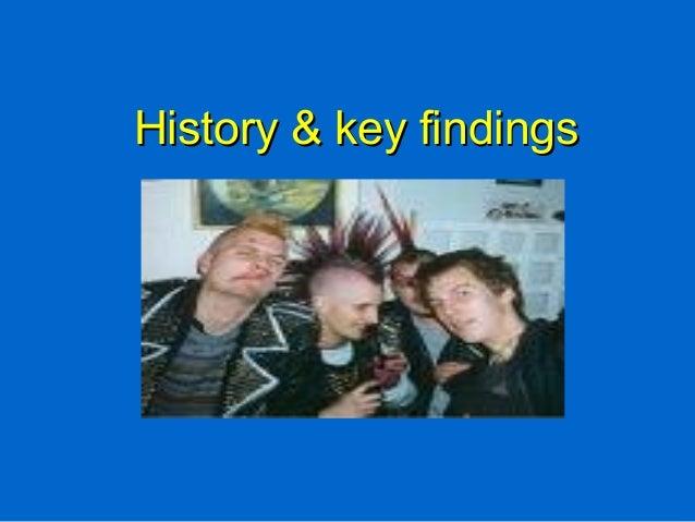History & key findingsHistory & key findings
