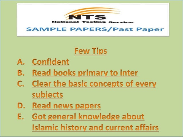nts sample papers 2017 for educators