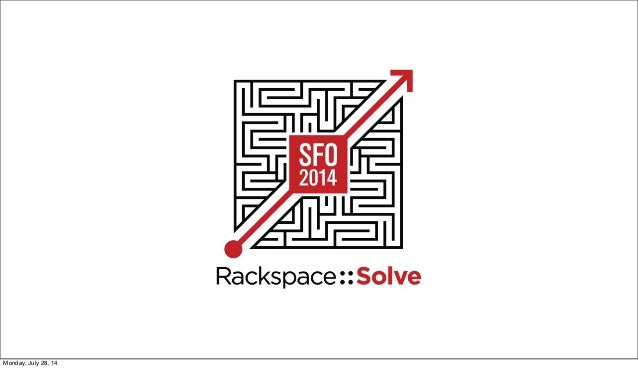 Rackspace::Solve SFO - Rackspace CEO Taylor Rhodes on the Power of Solving Problems Together