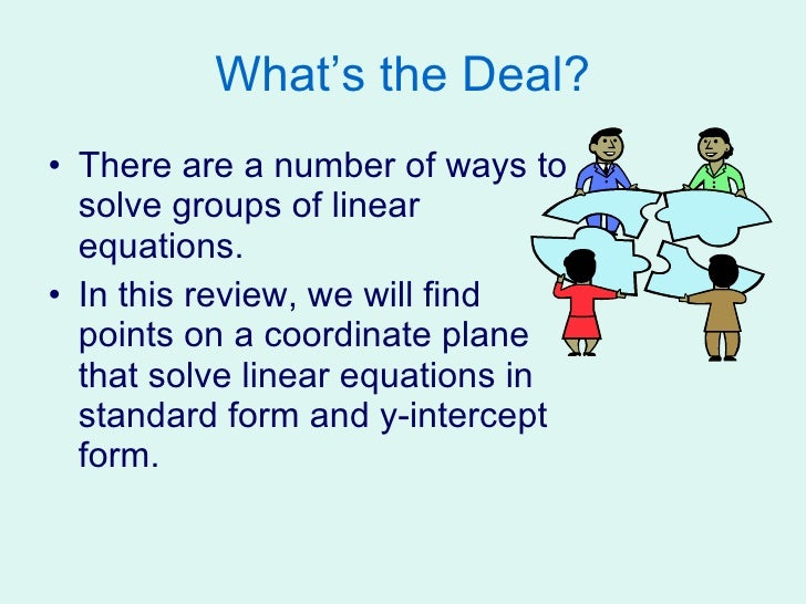 Solving linear equations homework help
