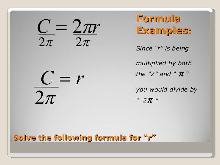 Solving Literal Equations – Literal Equations Worksheet