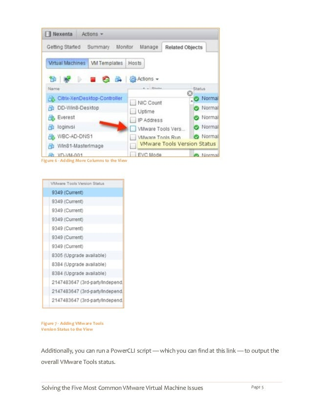 Solving the Five Most Common VMware Virtual Machine Issues