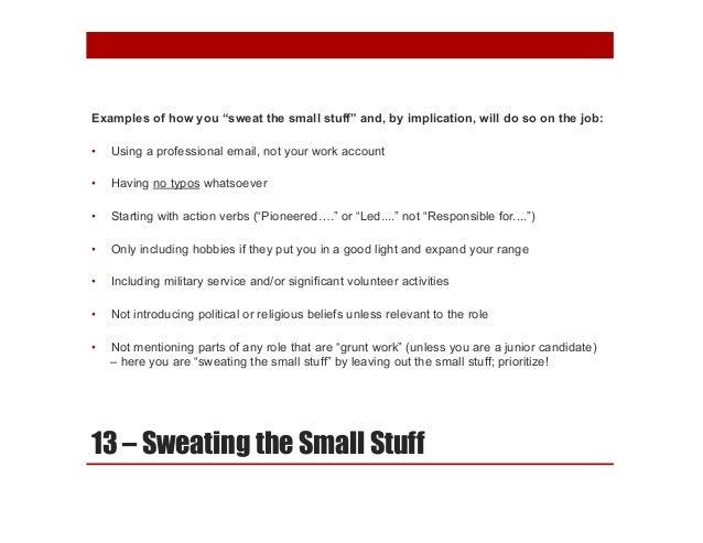 solving 20 top resume challenges webinar presentation