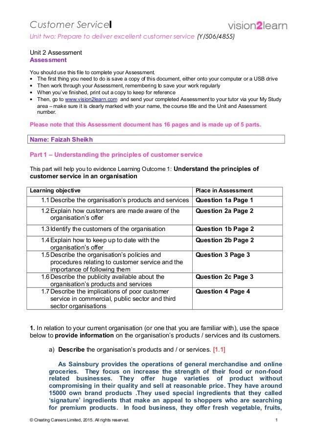 lao u2 assessment