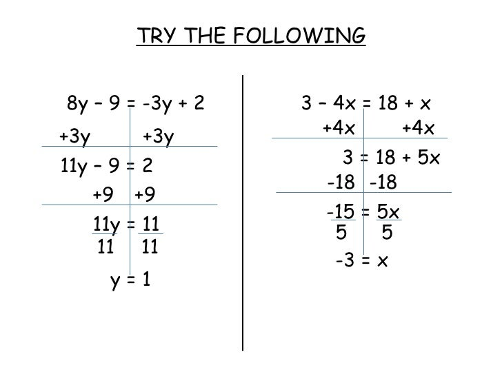 Printables Equations With Variables On Both Sides Worksheet printables solving equations with variables on both sides worksheet worksheet