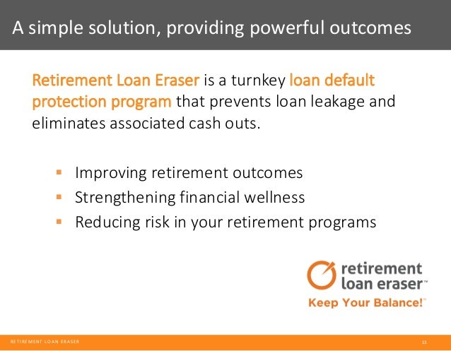 Solving For Retirement Plan Leakage