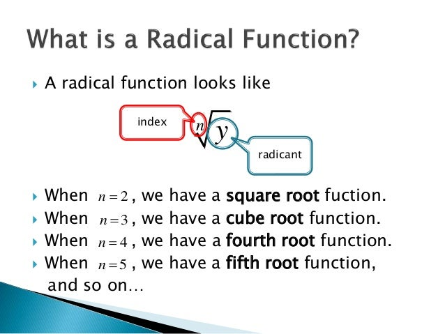 Solving inequalities that involve radical functions (Nov 28