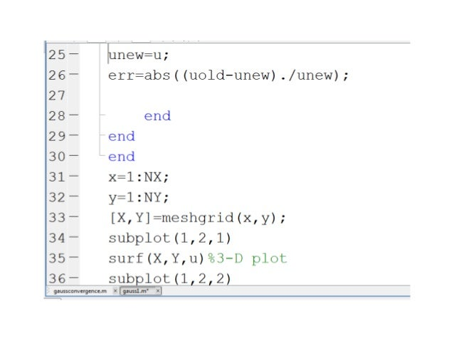 how to write an iteration code in matlab