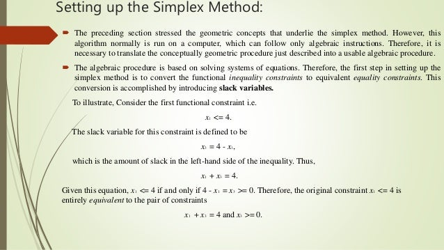 essay on linear programming Read this essay on linear programming and simplex method come browse our large digital warehouse of free sample essays get the knowledge you need in order to pass.