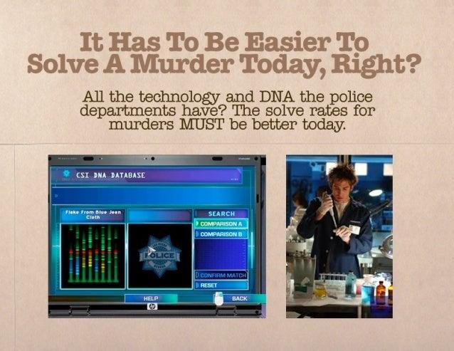 Solving murders with social media Slide 3