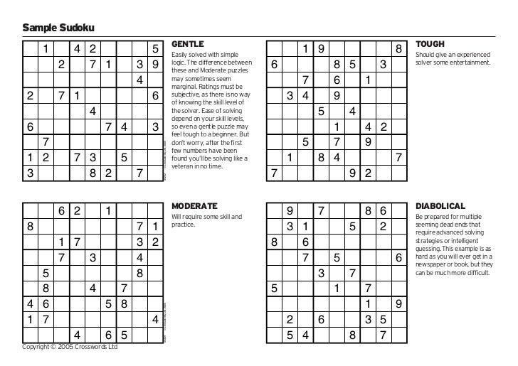 Solving sudoku – Sudoku Worksheet