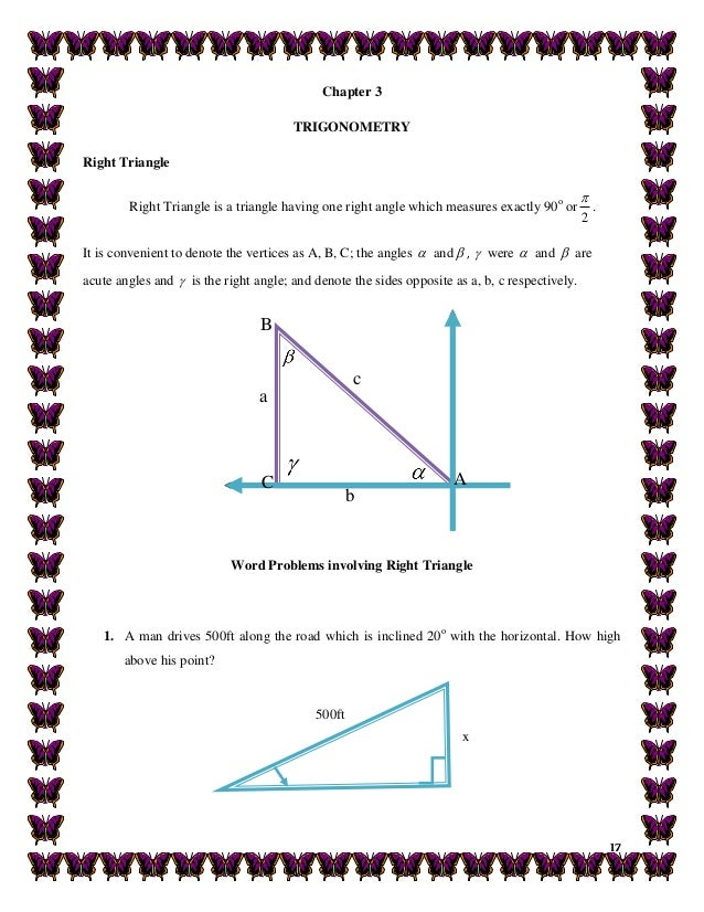 trigonometry applications in real life examples