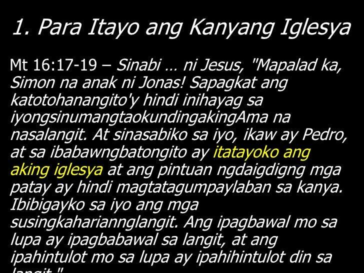 """3. Para Gawin Alagad … Sa Lahat ng               BansaMt 28:18-20 – Lumapitsi Jesus at sinabi sa kanila, """"Ibinigay na sa a..."""