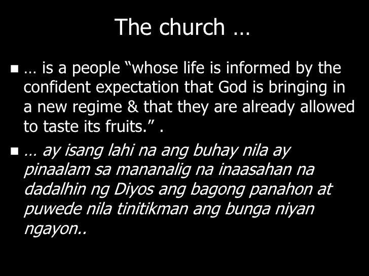 Jesus: Pagkatao Niya vsGawa Niya   Christology can be divided into 2 parts:    – The person of Jesus / Tao    – The work ...
