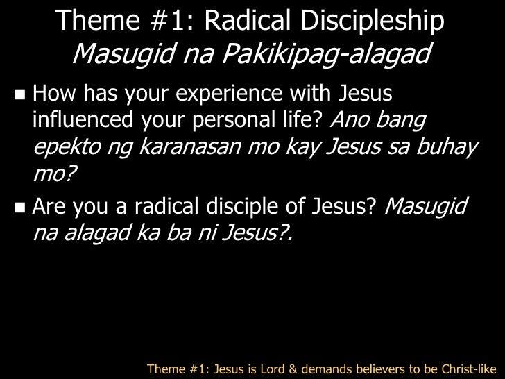 Theme #2: Missions1.   Commanded by God     – Mt 28:19-20 – Kayathabangkayoyhumahayo,       gawinninyongalagadko ang mga t...