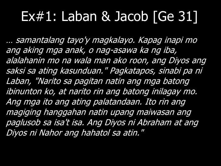"""Ex#2: Israel [Deuteronomy 6]""""Pakinggan mo, O Israel: … Ang mga utos niyayitanim ninyo sa inyong puso. Ituro ninyo ito sa i..."""