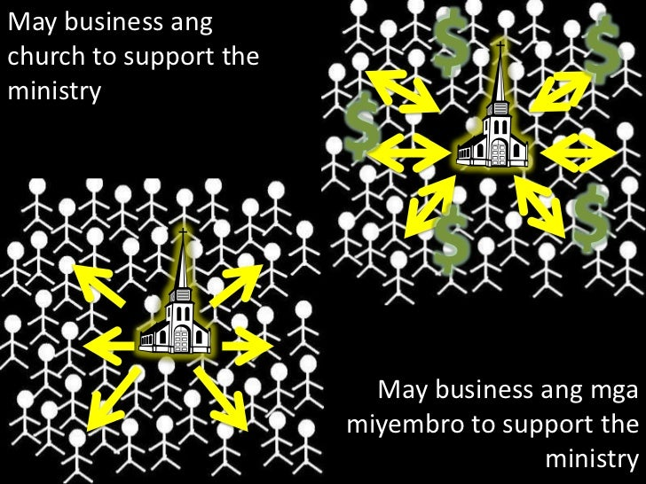 $<br />$<br />May business ang church to support the ministry<br />$<br />$<br />$<br />May business ang mga miyembro to s...