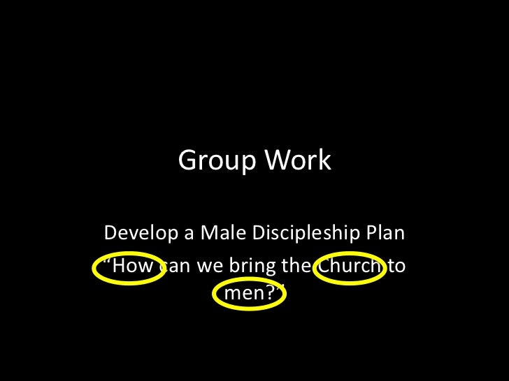 But discipleship can, because it's teaching by example. <br />Christ didn't hand out a study guide, He demonstrated a life...