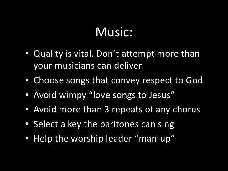 "Prayer:<br />Keep pastoral prayers short <br />Avoid showy ""prayer-speak"" when praying in church <br />Avoid ""vain repetit..."