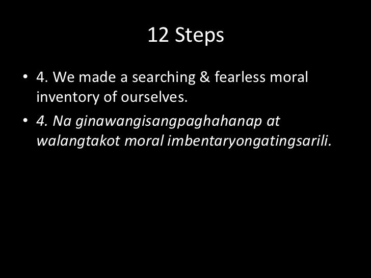 12 Steps<br />3. We made a decision to turn our will & our lives over to the care of God as we understood Him.<br />3. Gin...