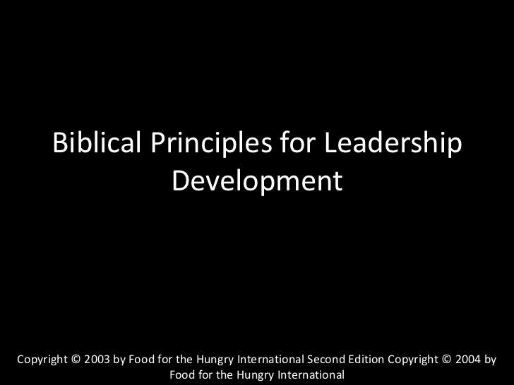 Truth & Community Transformation<br />Foundational Principles for Distinctively Biblical Community Development<br />Copyri...