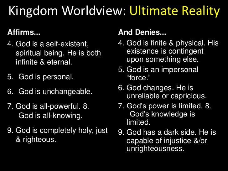 48 Essential Elements of the Worldview of the Kingdom of God<br />These 48 essential elements provided the basic theologic...