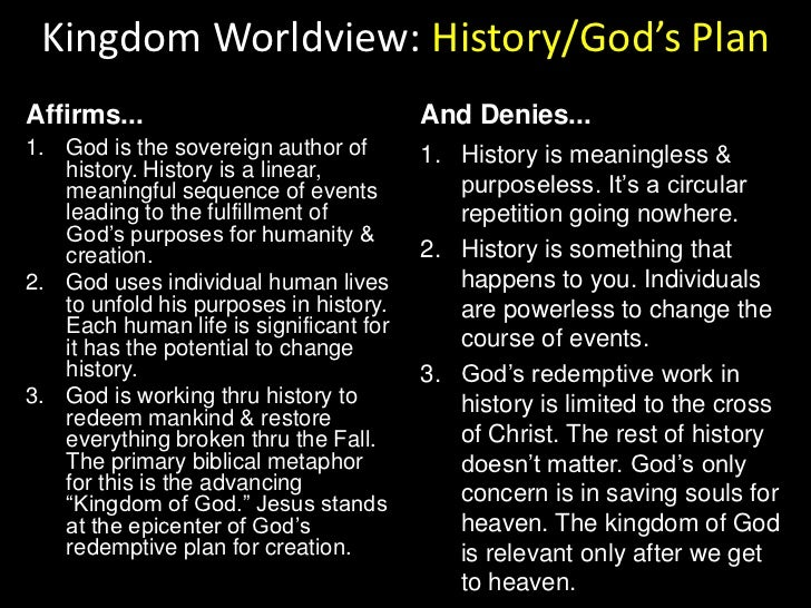 Kingdom Worldview: Creation<br />Affirms...<br />And Denies...<br />The universe is finite, temporal & real.<br />The univ...