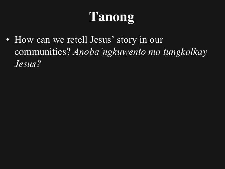 Interpreting the GospelsMay dalawangklasengkasulatan sa mga Gospels.1. Una ay salaysayo narrative.   Itongklasengkasulatan...