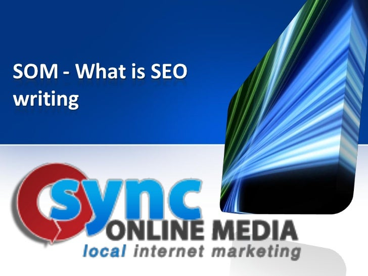 SOM - What is SEOwriting