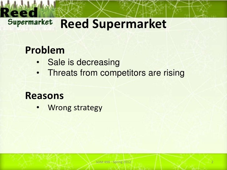 reed supermarkets Reed's, inc announces expanded relationship with ralph's  an expanded relationship with ralph's supermarkets,  reed, founder and ceo of reed's, inc.
