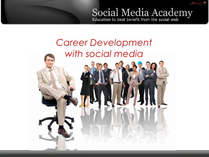 Career Development  with social media<br />