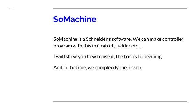 SoMachine 4 1 quickstart