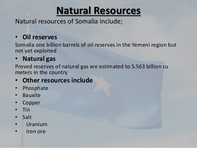 Natural Gas Estimated Reserves