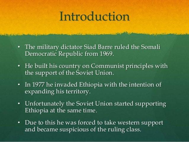 what caused the somali civil war