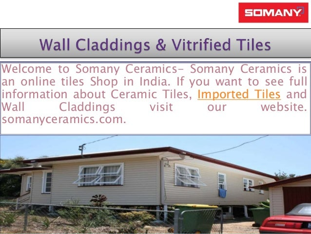 Somany Leading Tiles Manufacture Company In India