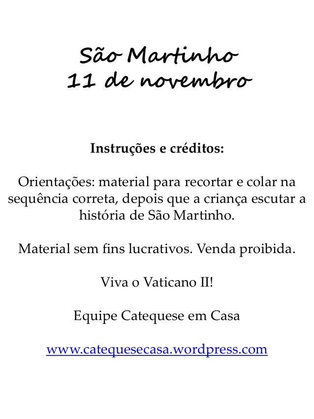 Sao Martinho Colorir