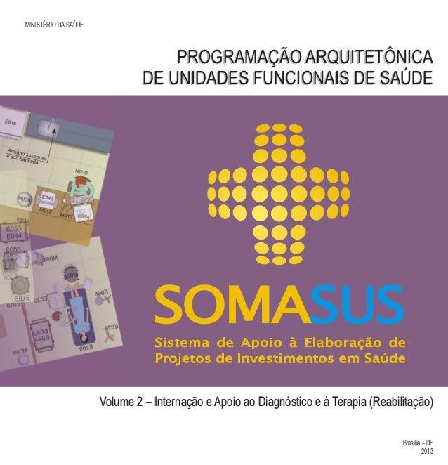 Volume 2 – Internação e Apoio ao Diagnóstico e à Terapia (Reabilitação) Universidade Federal da Bahia Biblioteca Virtual e...