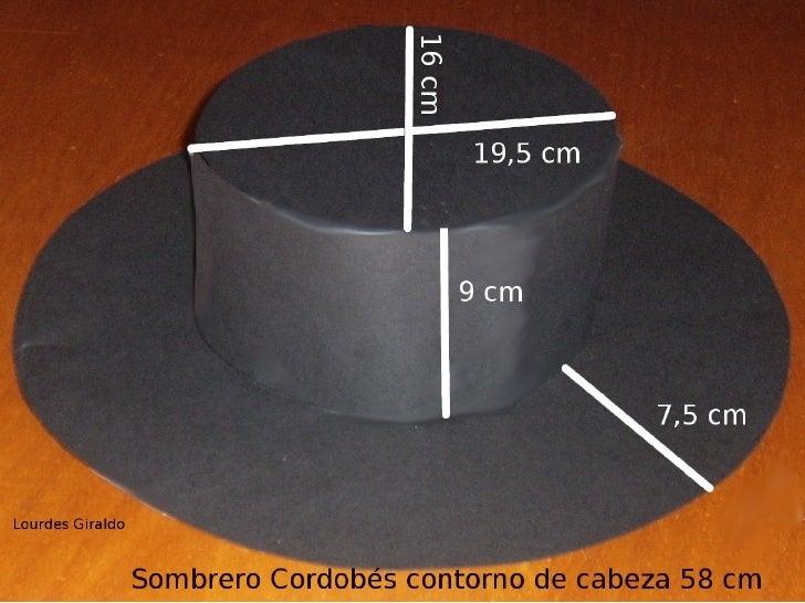 92a8ae04fb3c3 Sombrero cordobés
