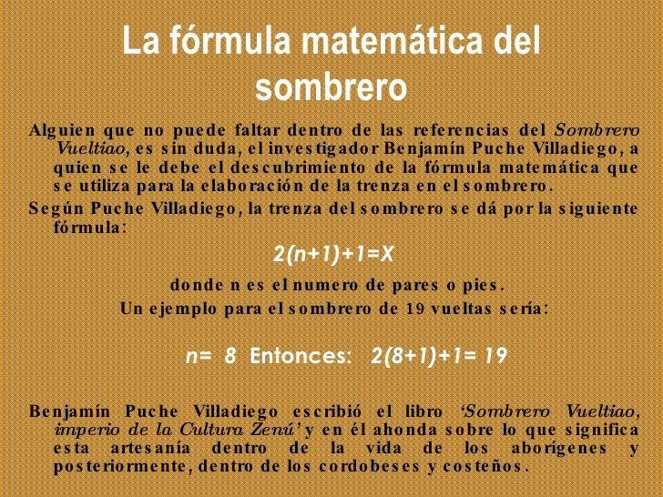 La fórmula matemática del sombrero ... 72421155449