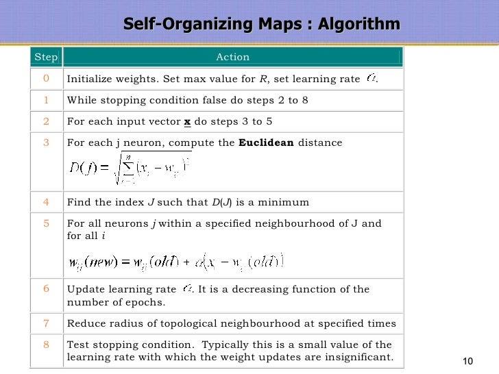 SELF ORGANIZING MAP ALGORITHM EBOOK