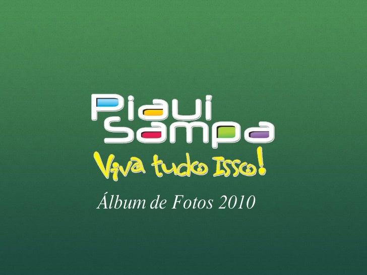 Álbum de Fotos 2010