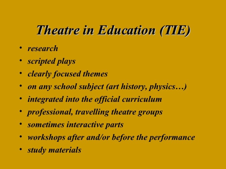 research throughout theatre coaching articles