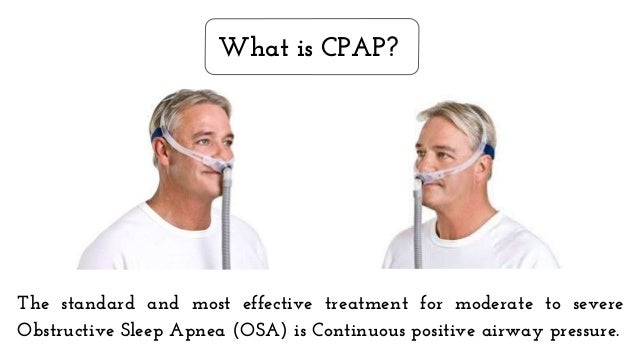 what are the benefits of using a cpap machine