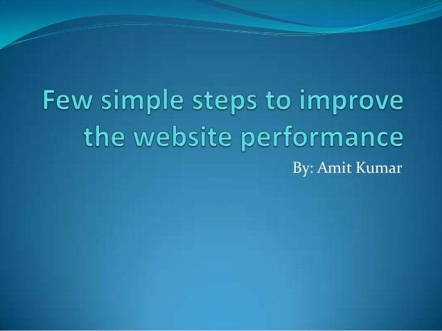 By: Amit Kumar