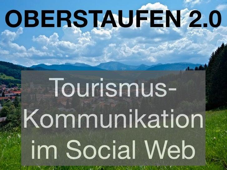 Tourismustag 2010: Bianca Keybach über die Social Media-Best Practices aus Oberstaufen