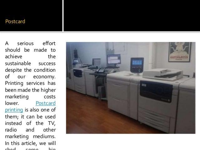 Some big advantages of postcard printing