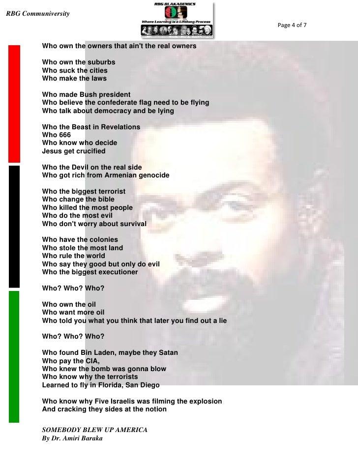 Amiri Baraka Lyrics, Songs, and Albums | Genius