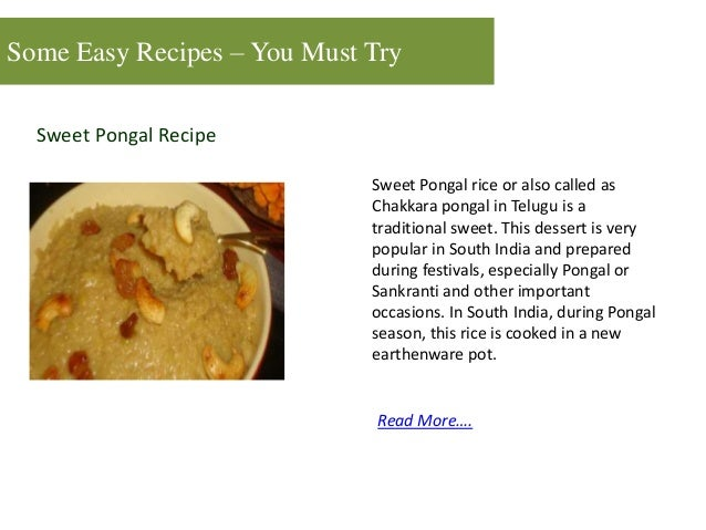 Top 7 easy recipes you must try 8 some easy recipes forumfinder Images