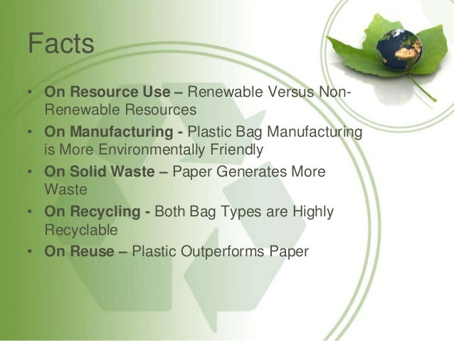 Some Eco Friendly Products And Their Non Eco Friendly