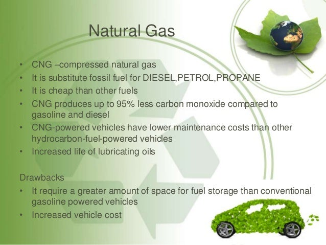 Can Anything Be Used As A Substitute For Natural Gas
